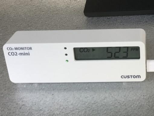 CO2モニター例